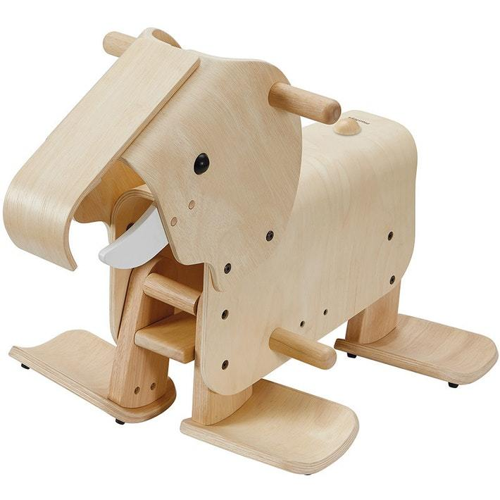Plan Toys Walking Elephant - Naked Baby Eco Boutique