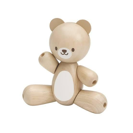 Plan Toys Wooden Bear - Naked Baby Eco Boutique