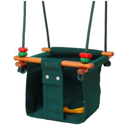 Solvej Baby & Toddler Swing - Forest Green - Naked Baby Eco Boutique