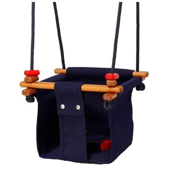 Solvej Baby & Toddler Swing - Midnight Blue - Naked Baby Eco Boutique