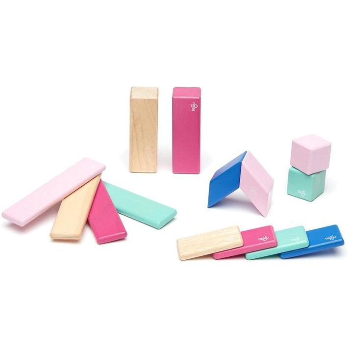 Tegu Magentic Wooden Blocks - 14-Piece Set - Naked Baby Eco Boutique