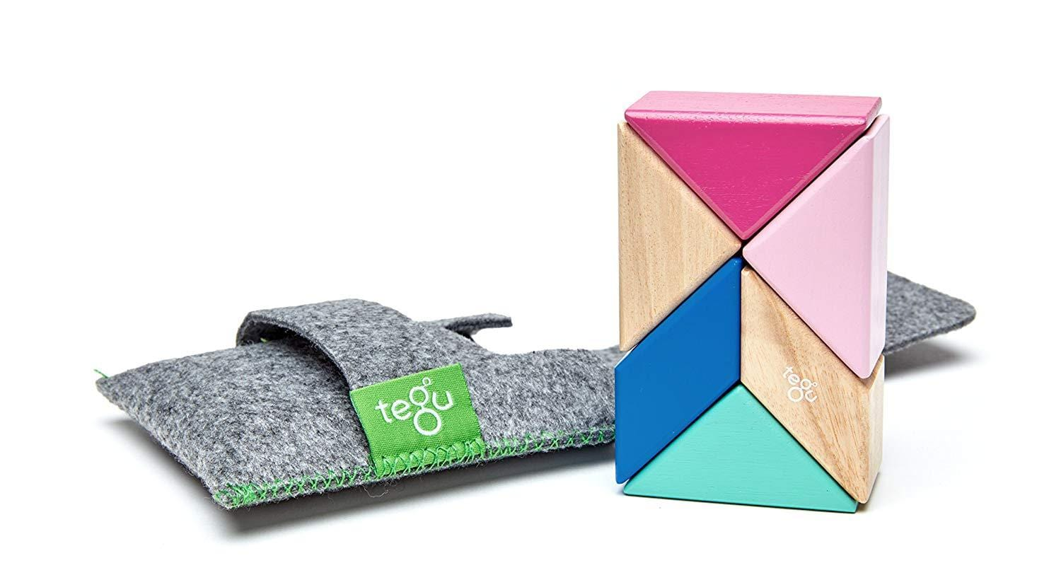 Tegu Magentic Wooden Pocket Prism Pouch - Naked Baby Eco Boutique