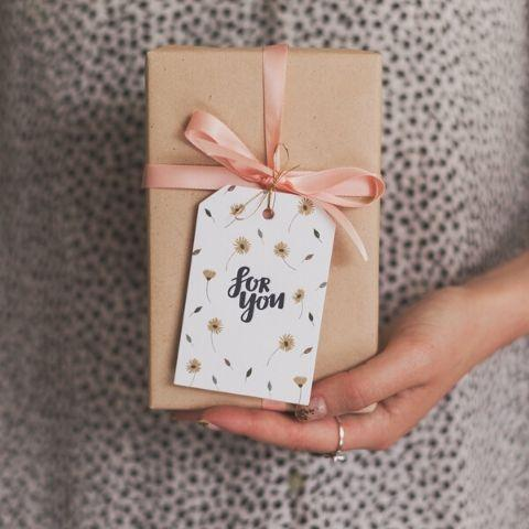 "The Kiss Co. ""For You"" Gift Tag - Naked Baby Eco Boutique"