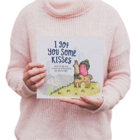 "The Kiss Co. ""I Got You Some Kisses"" Book - Naked Baby Eco Boutique"