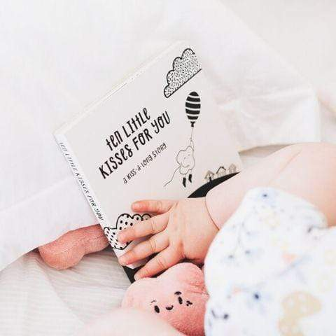 "The Kiss Co. ""Ten Little Kisses For You"" Board Book - Naked Baby Eco Boutique"