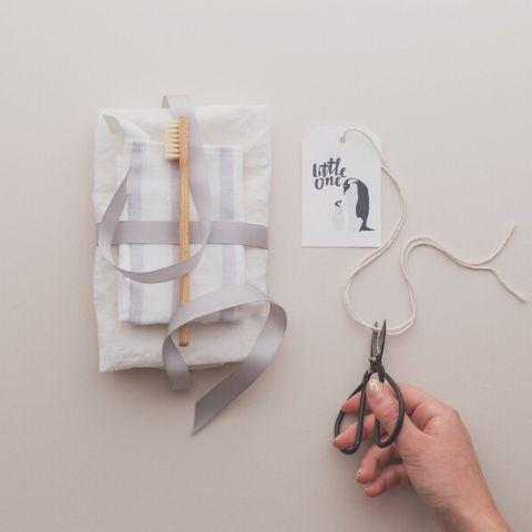 "The Kiss Co. ""Little One"" Gift Tag - Naked Baby Eco Boutique"