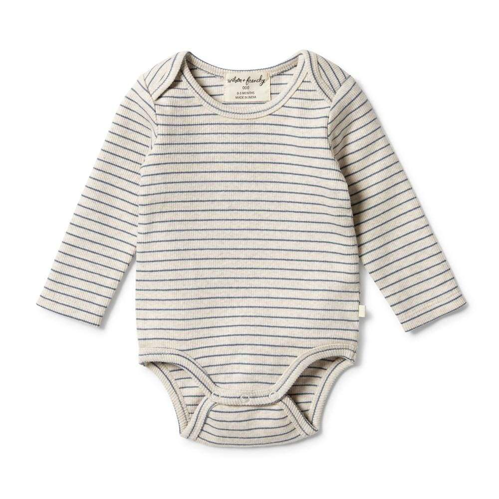 Wilson-and-Frenchy-Organic-Stripe-Rib-Onesie-Denim-Blue-Naked-Baby-Eco-Boutique