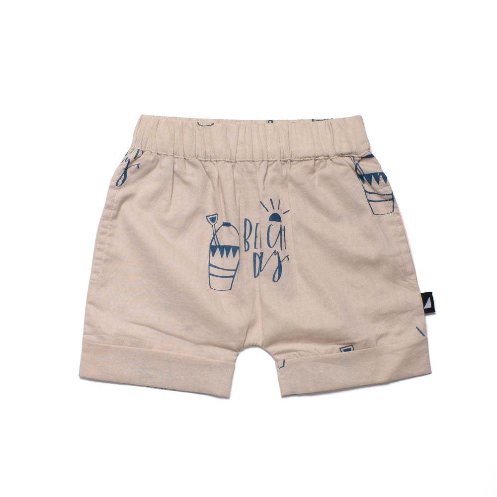 Anarkid Organic Cotton Beach Day Woven Pocket Shorts