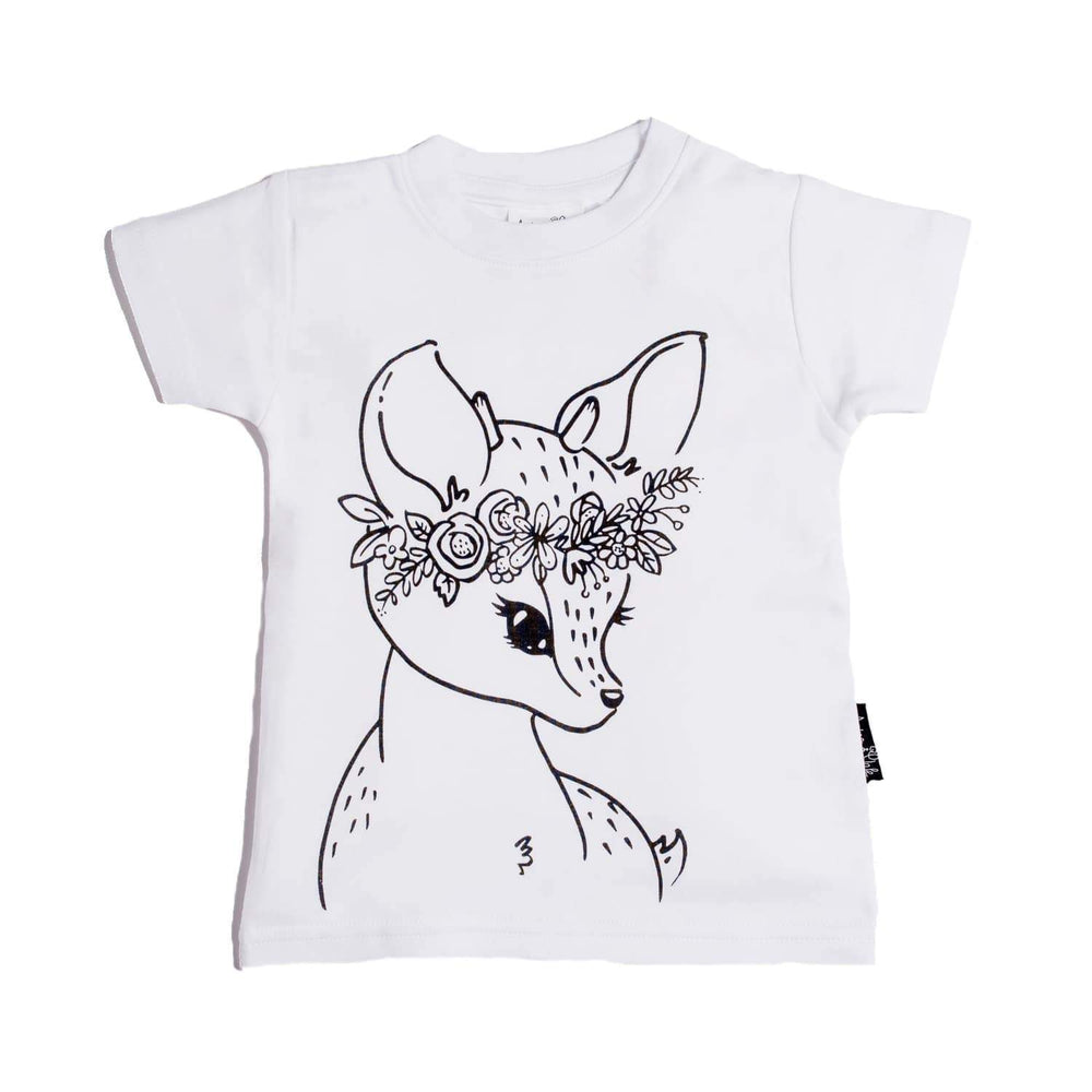Aster & Oak Organic Cotton Fawn T-Shirt