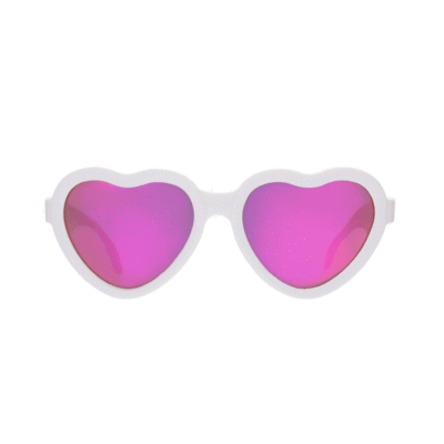 Junior (0 - 2 Years) Babiators Sweetheart Baby & Kids Sunglasses - Naked Baby Eco Boutique