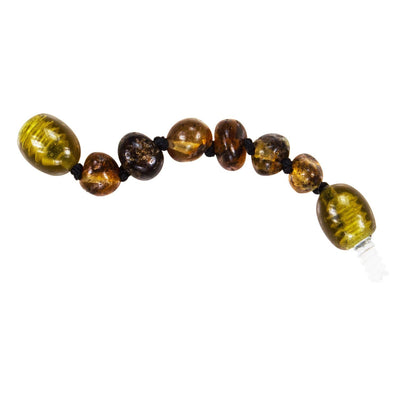 Green Bambeado Baby Baltic Amber Extension Piece - Naked Baby Eco Boutique