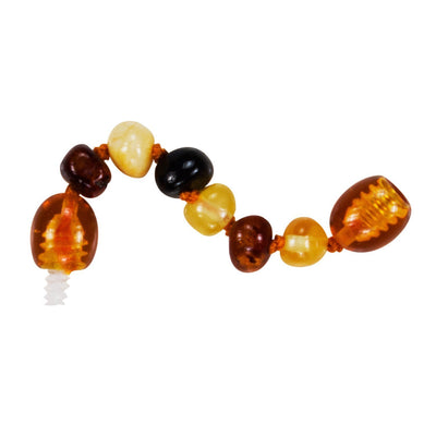 Mixed Bambeado Baby Baltic Amber Extension Piece - Naked Baby Eco Boutique