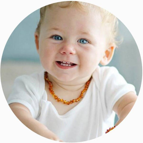 Bambeado Baby Baltic Amber Teething Necklace - Naked Baby Eco Boutique - New Zealand Eco Friendly Organic Baby Products - 10