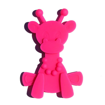 Magenta Bambeado Little Bam Bam My First Teething Toy - Naked Baby Eco Boutique