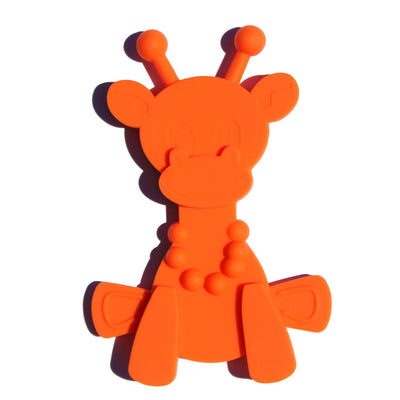 Orange Bambeado Little Bam Bam My First Teething Toy - Naked Baby Eco Boutique