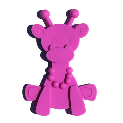 Purple Bambeado Little Bam Bam My First Teething Toy - Naked Baby Eco Boutique