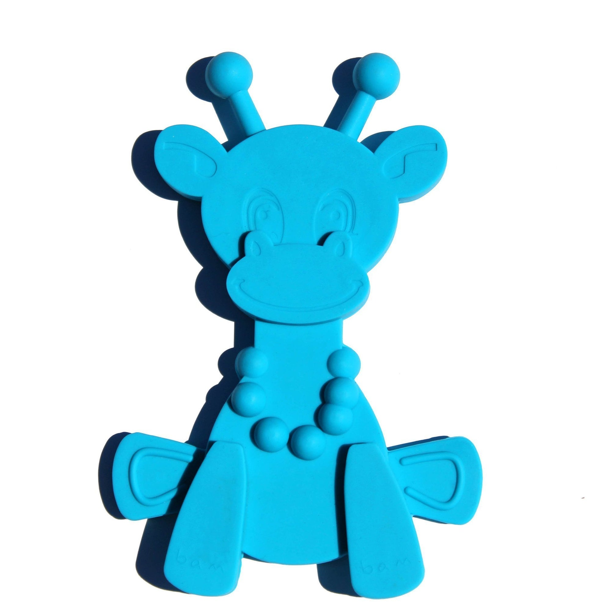 Cyan Bambeado Little Bam Bam My First Teething Toy - Naked Baby Eco Boutique