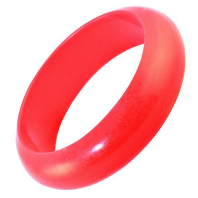 Red Bambeado Silicone Classic Bangle - Naked Baby Eco Boutique