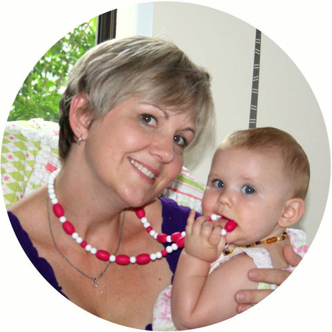 Bambeado Silicone Combination Necklace - Naked Baby Eco Boutique - New Zealand Eco Friendly Organic Baby Products - 4