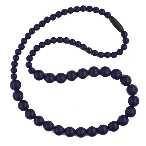 Bambeado Silicone Round Bead Necklace - Naked Baby Eco Boutique - New Zealand Eco Friendly Organic Baby Products - 4