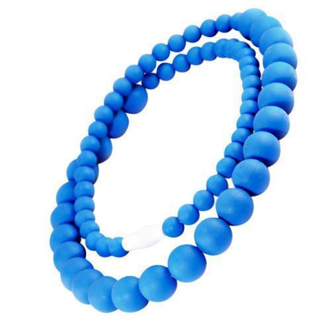 Bambeado Silicone Round Bead Necklace - Naked Baby Eco Boutique - New Zealand Eco Friendly Organic Baby Products - 7
