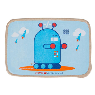 Pixel (Robot) Beatrix New York Bento Boxes - Naked Baby Eco Boutique