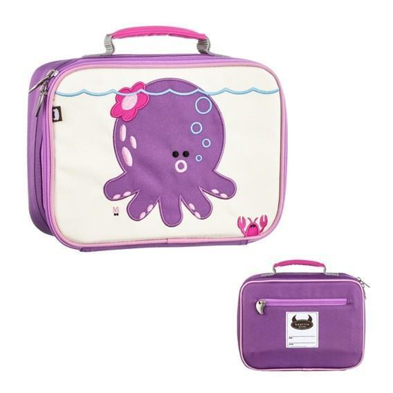 Beatrix New York Lunch Box - Penelope (Octopus) - Naked Baby Eco Boutique - New Zealand Eco Friendly Organic Baby Products - 1