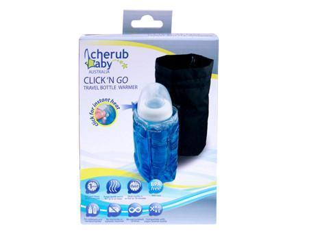 Cherub Baby Click N Go Travel Bottle Warmer - Naked Baby Eco Boutique