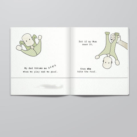 Dads Are So Awesome Book - Naked Baby Eco Boutique