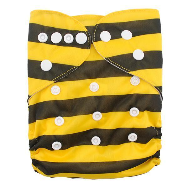 Express the Best Cloth Re-usable Nappy Pack - Bee - Naked Baby Eco Boutique