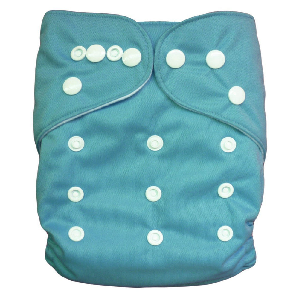 Express the Best Cloth Re-usable Nappy Pack - Blue - Naked Baby Eco Boutique - New Zealand Eco Friendly Organic Baby Products
