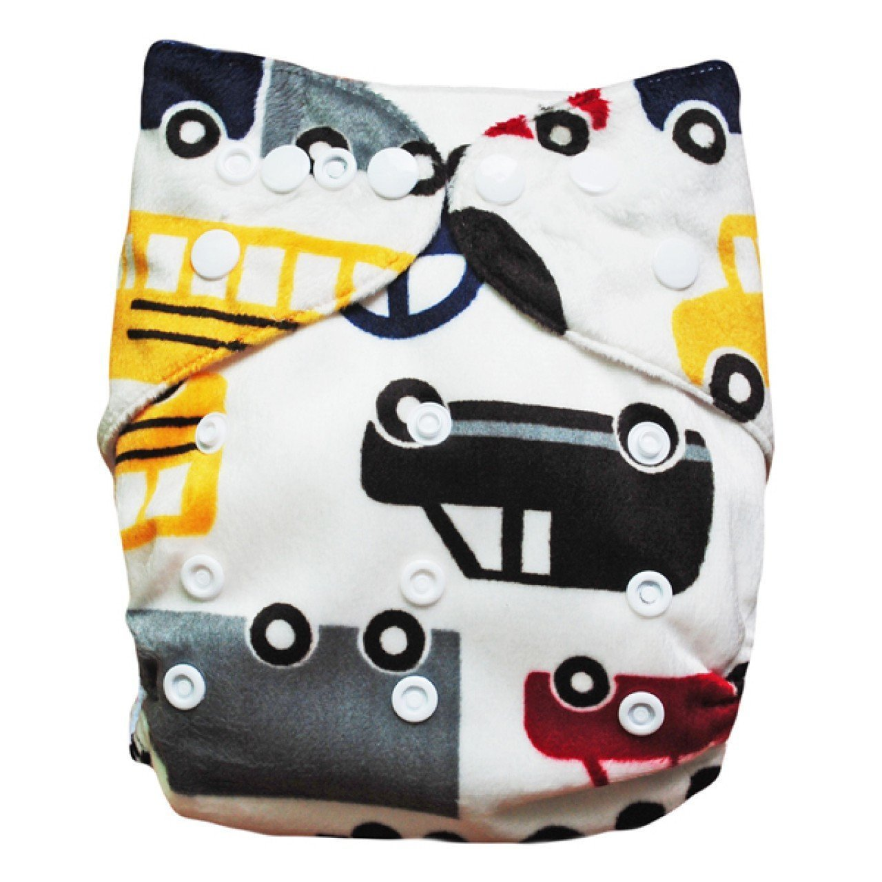Express the Best Cloth Re-usable Nappy Pack - Cars & Transport - Naked Baby Eco Boutique