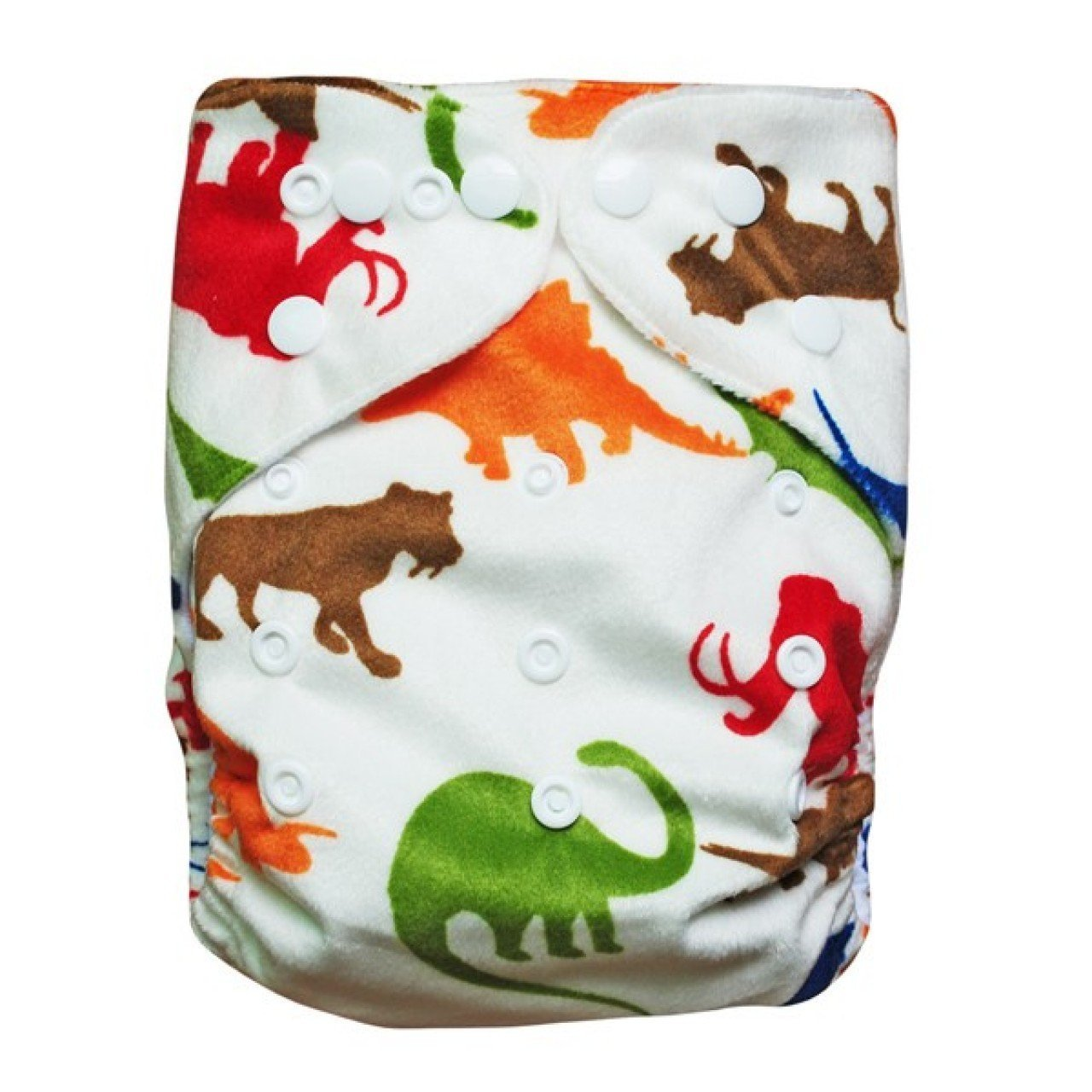 Express the Best Cloth Re-usable Nappy Pack - Dino Friends - Naked Baby Eco Boutique