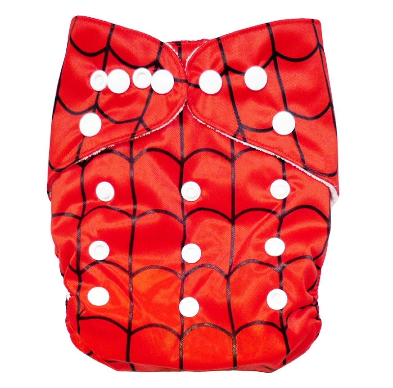Express the Best Cloth Re-usable Nappy Pack - Spidey Web - Naked Baby Eco Boutique