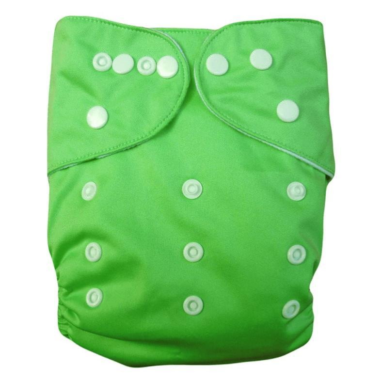 Express the Best Re-usable Modern Cloth Nappy - Green - Naked Baby Eco Boutique