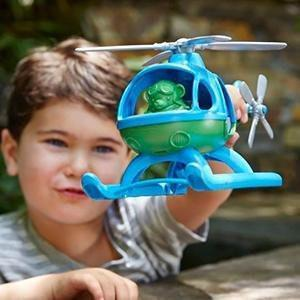 Green Toys Helicopter - Naked Baby Eco Boutique - New Zealand Eco Friendly Organic Baby Products - 2