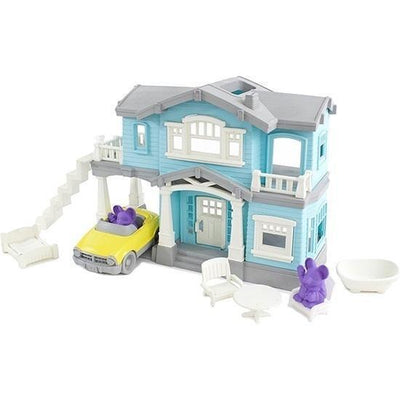 Green Toys House Playset - Naked Baby Eco Boutique