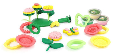 Flower Maker Green Toys Playdough Activity Sets (Multiple Variants) - Naked Baby Eco Boutique
