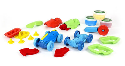 Race Car Maker Green Toys Playdough Activity Sets (Multiple Variants) - Naked Baby Eco Boutique