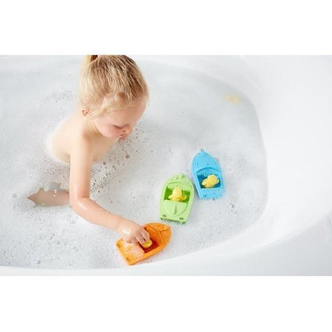 Green Toys Speed Boat - Green - Naked Baby Eco Boutique - New Zealand Eco Friendly Organic Baby Products - 1