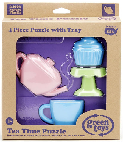 Green Toys Tea Time 3D Puzzle Set - Naked Baby Eco Boutique - New Zealand Eco Friendly Organic Baby Products - 2