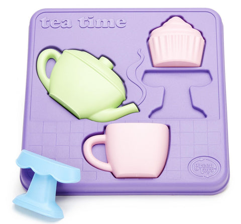 Green Toys Tea Time 3D Puzzle Set - Naked Baby Eco Boutique - New Zealand Eco Friendly Organic Baby Products - 3