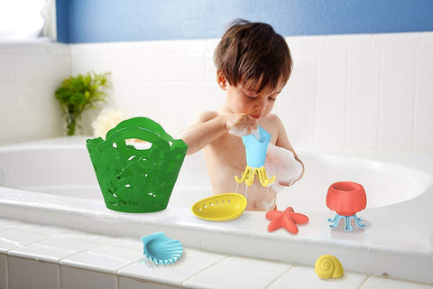 Green Toys Tidal Pool Bath Set - Naked Baby Eco Boutique