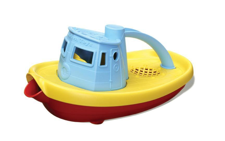 Blue Green Toys Tug Boat - Naked Baby Eco Boutique