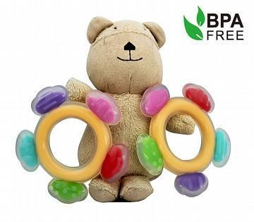 Haakaa Silicone Ferris Wheel Teether - Naked Baby Eco Boutique - New Zealand Eco Friendly Organic Baby Products - 2
