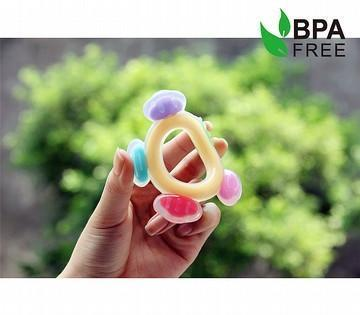 Haakaa Silicone Ferris Wheel Teether - Naked Baby Eco Boutique - New Zealand Eco Friendly Organic Baby Products - 3