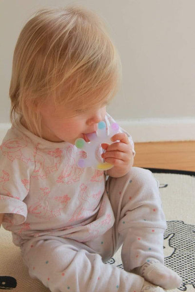 Haakaa Silicone Palm Teether - Naked Baby Eco Boutique
