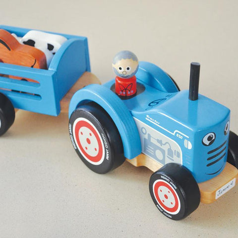 Indigo Jamm Tractor Tim - Naked Baby Eco Boutique