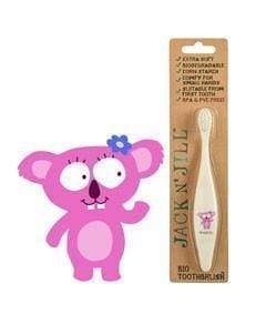 Pink Koala Jack N' Jill Biodegradable Toothbrush (Multiple Variants) - Naked Baby Eco Boutique