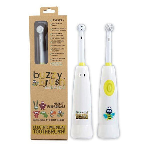 Jack N' Jill Buzzy Brush Musical Electrical Toothbrush - Naked Baby Eco Boutique - New Zealand Eco Friendly Organic Baby Products - 2